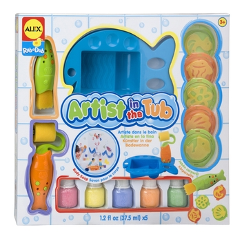 Artist In The Tub Painting Set
