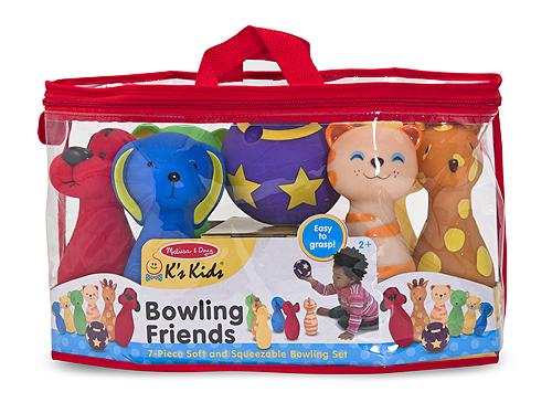 Bowling Friends Preschool Playset