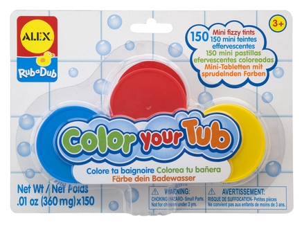 Color Your Tub Fizzy Tints