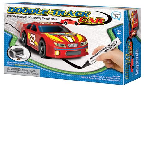 Doodle Track car