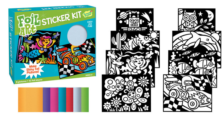 Foil Art Sticker Kit