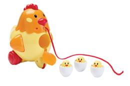 Henrietta the Pull Along Hen