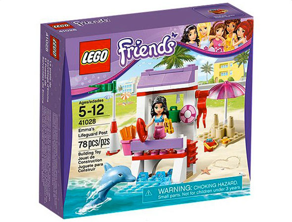 Lego Friends Emmas Lifeguard Post