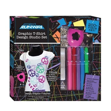 Project Runway Graphic T Shirt Design Studio Set