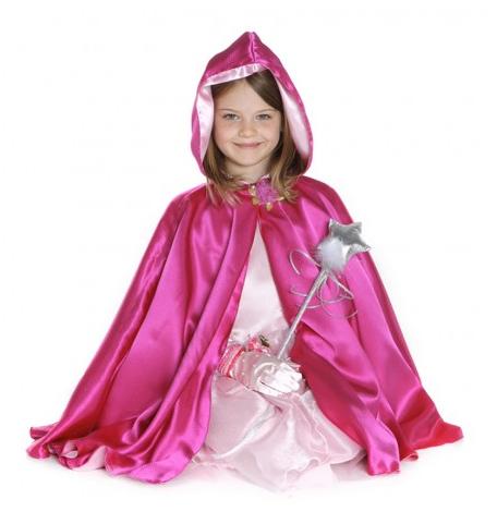 Reversible Hooded Princess Cape