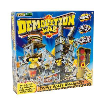 Demolition Lab Triple Blast Warehouse
