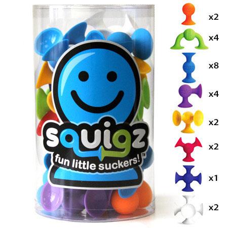 Squigz 24 Pieces Starter Set