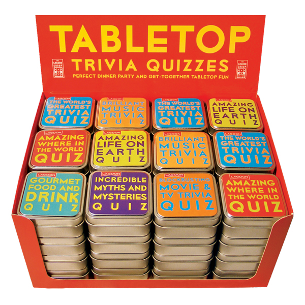 Tabletop Trivia Quizzes