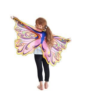 Fairy wings rainbow w glitter