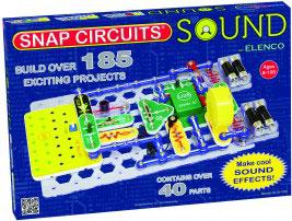 Snap circuit sound