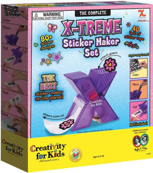 X treme sticker maker set